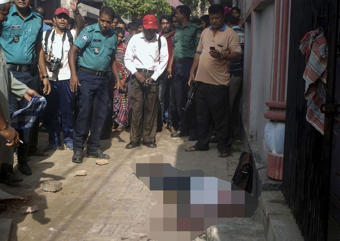 Ông Siddique bị sát hại hôm 23-4. Ảnh: EPA