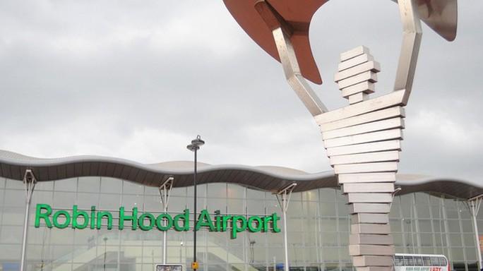 Sân bay Doncaster Robin Hood. Ảnh: Daily Mail