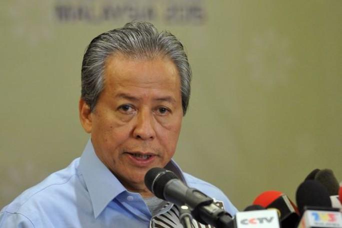 Ngoại trưởng Malaysia Anifah Aman. Ảnh: THE STAR