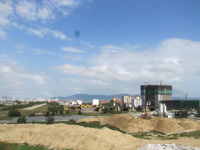 Khách sạn JW Marriott đang xây dựng gần sân bay Nước Mặn quận Ngũ Hành Sơn