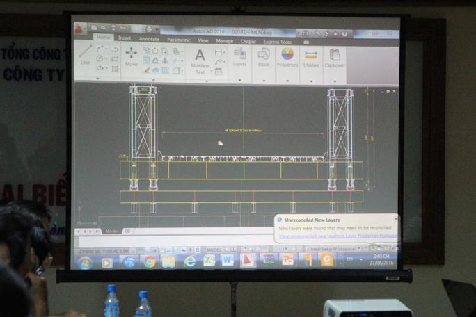 Phương án xây dựng cầu tạm