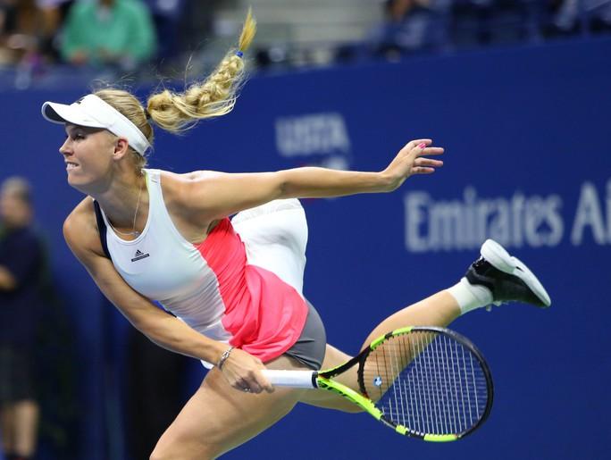 Đây là lần đầu tiên Wozniacki thắng liền 3 trận kể từ đầu năm 2016