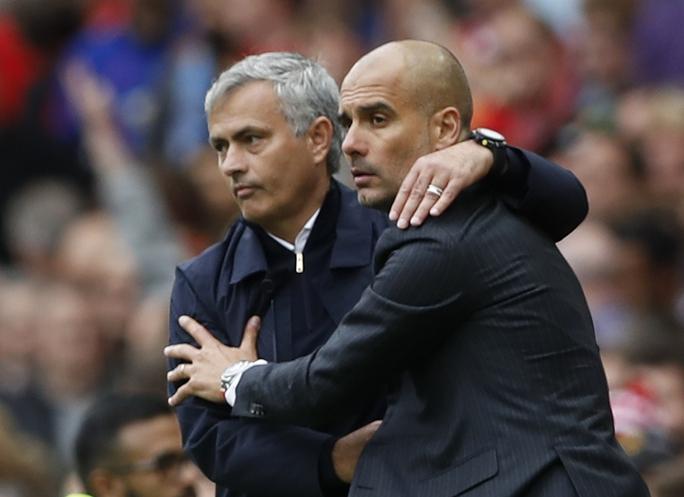M.U của Mourinho đã tụt lại sau Man City của Guardiola