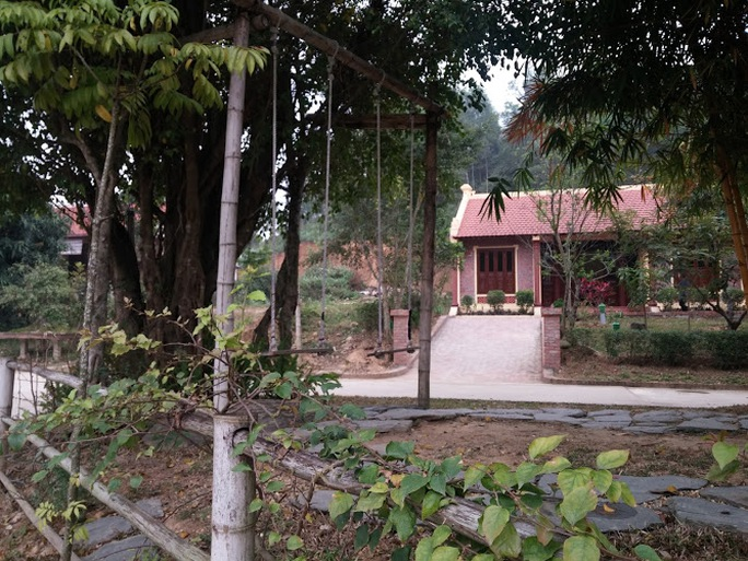 Khung cảnh ở Điền Viên thôn - ảnh Nguyễn Quyết