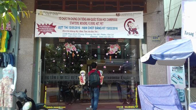 Trung tâm ngoại ngữ Việt Anh - Ves tại Gia Lai