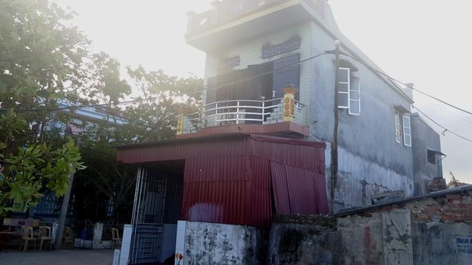Ngôi nhà nơi xảy ra vụ cháy