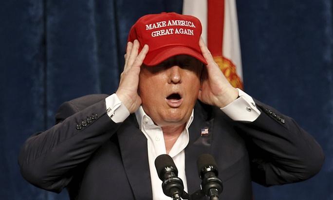 Tỉ phú Donald Trump. Ảnh: Reuters
