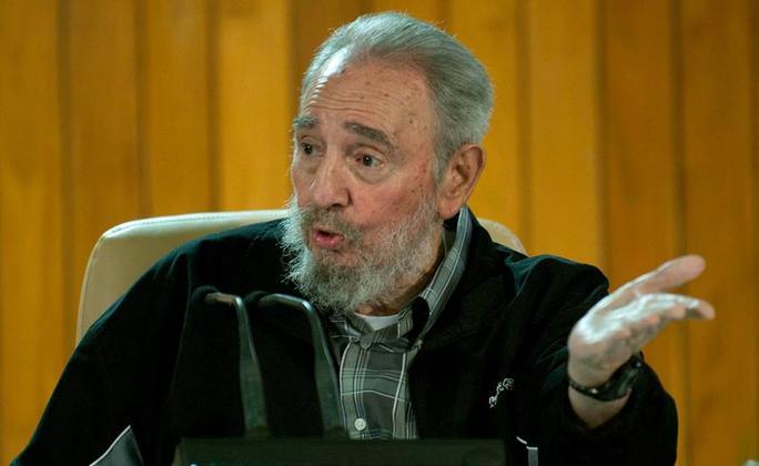 Nhà Trắng loại trừ khả năng diễn ra cuộc gặp giữa Tổng thống Barack Obama và nhà lãnh đạo cách mạng Fidel Castro. Ảnh: AP