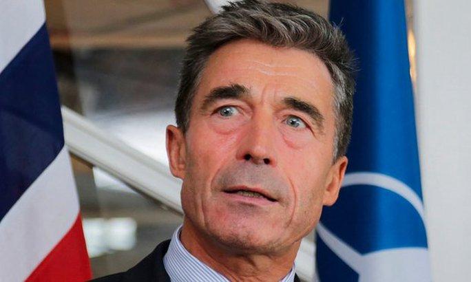 Ông Anders Fogh Rasmussen,. Ảnh: EPA