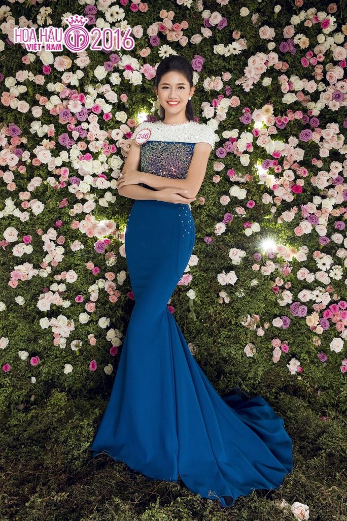 Thí sinh Ngô Thanh Thanh Tú, người được đánh giá là sẽ đội vương miện Hoa hậu Việt Nam năm nay