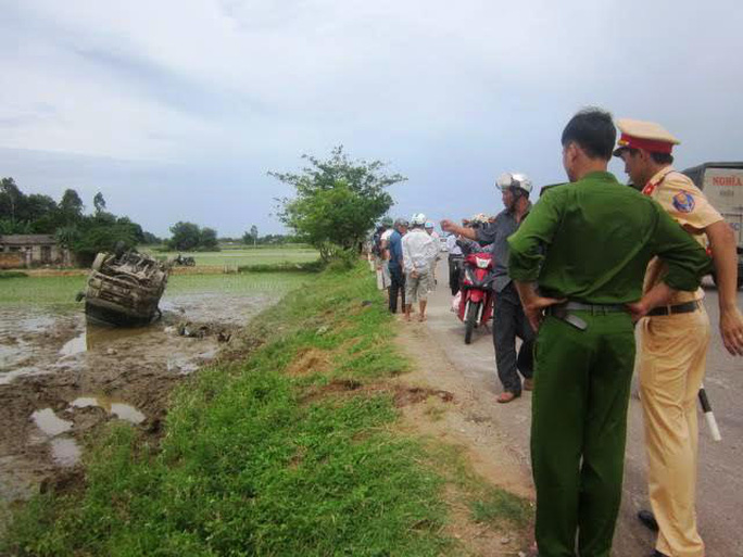 Vụ tai nạn khiến 1 người chết tại chỗ, 3 người bị thương