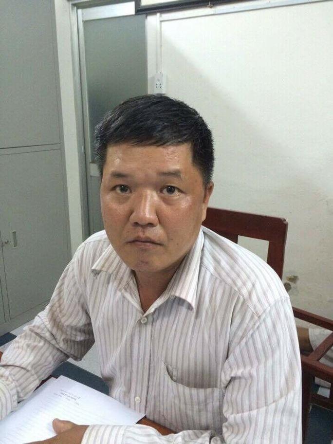 Đặng Hồng Thanh, người chuyên đảm nhận nhiệm vụ làm giả giấy tờ xe cho Quyết.