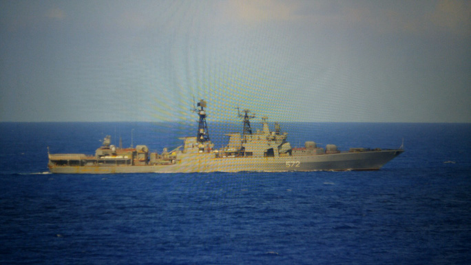 Đô đốc Vinogradov. Ảnh: USNI NEWS