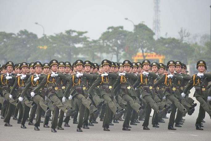 Lực lượng an ninh bảo vệ Đại hội Đảng