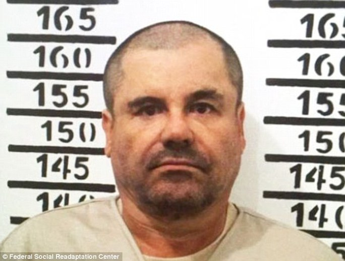Trùm ma túy này Joaquin El Chapo Guzman. Ảnh: Federal social Readaptation center