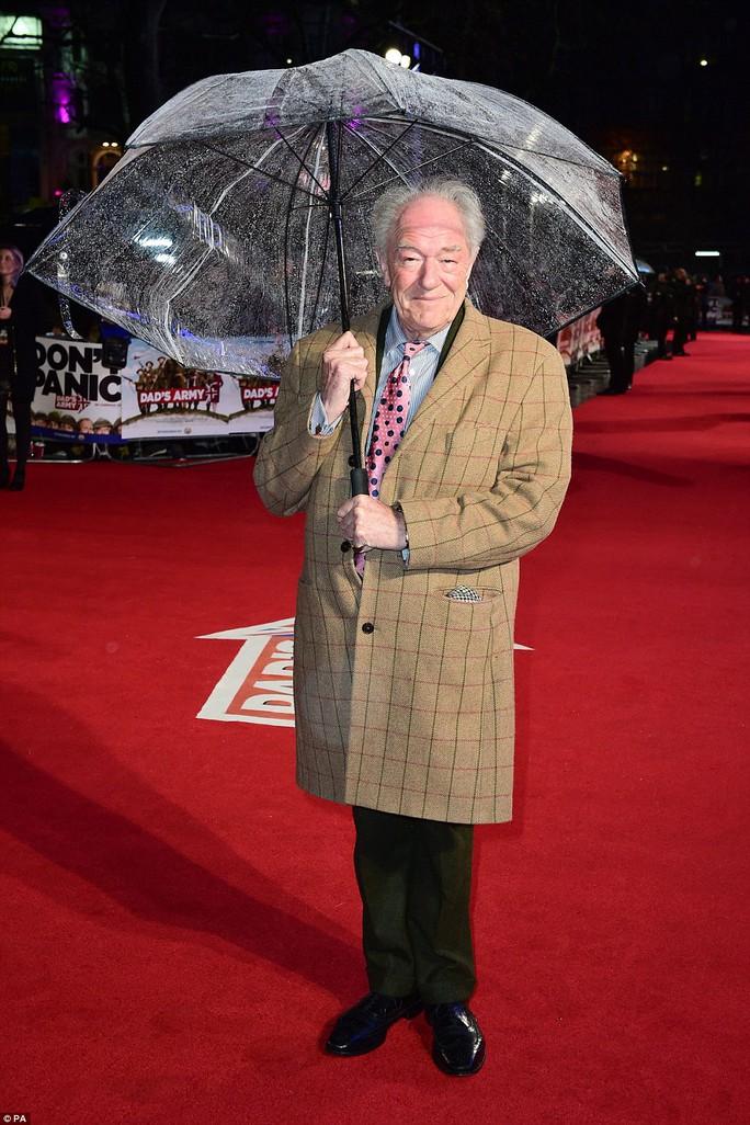 Thời tiết bất lợi những vẫn đông sao đến dự ra mắt phim