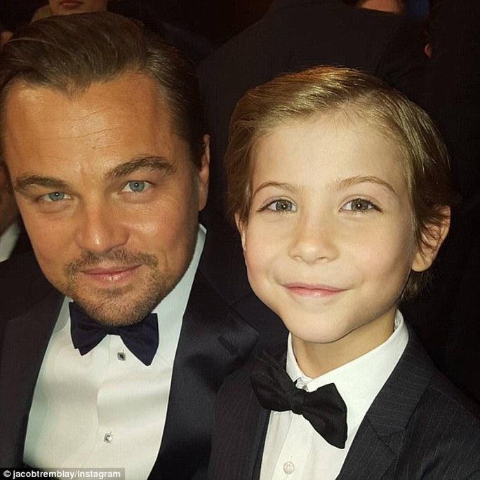 Leonardo với Jacob Tremblay