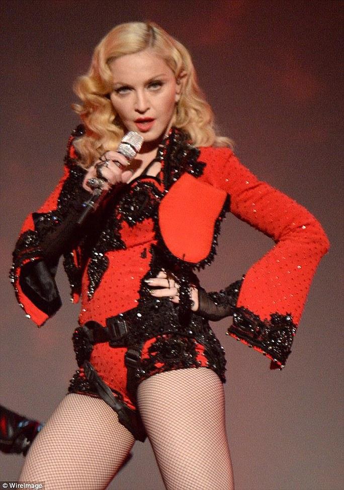 Madonna có buổi diễn ở Auckland - New Zealand