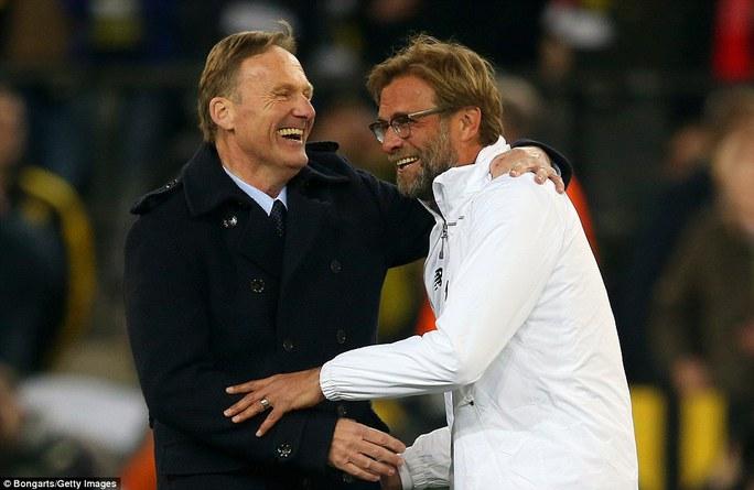 Giám đốc điều hành Dortmund và Kloop