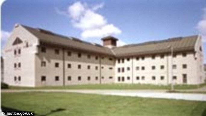 Nhà tù Moorland, nơi Johnson đang chịu hình phạt