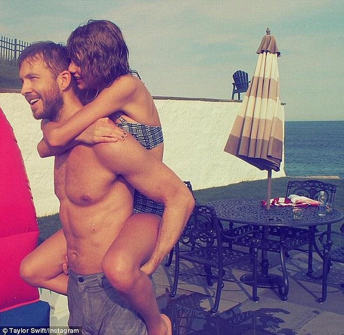 Taylor và Calvin thuở mặn nồng