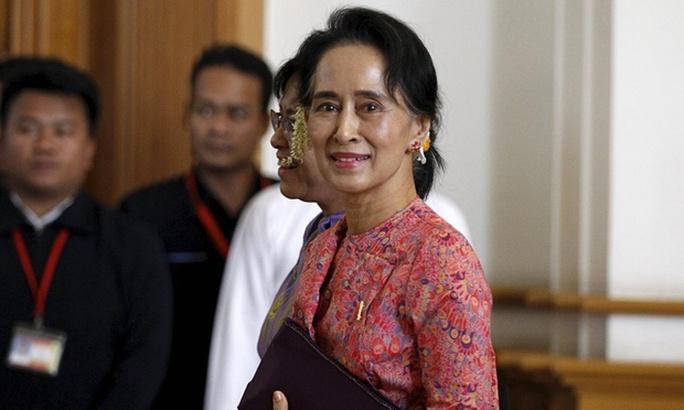 Bà Aung San Suu Kyi. Ảnh: Reuters