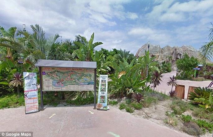 Công viênTerra Natura de Benidorm, nơi xảy ra vụ tấn công. Ảnh: Google Maps