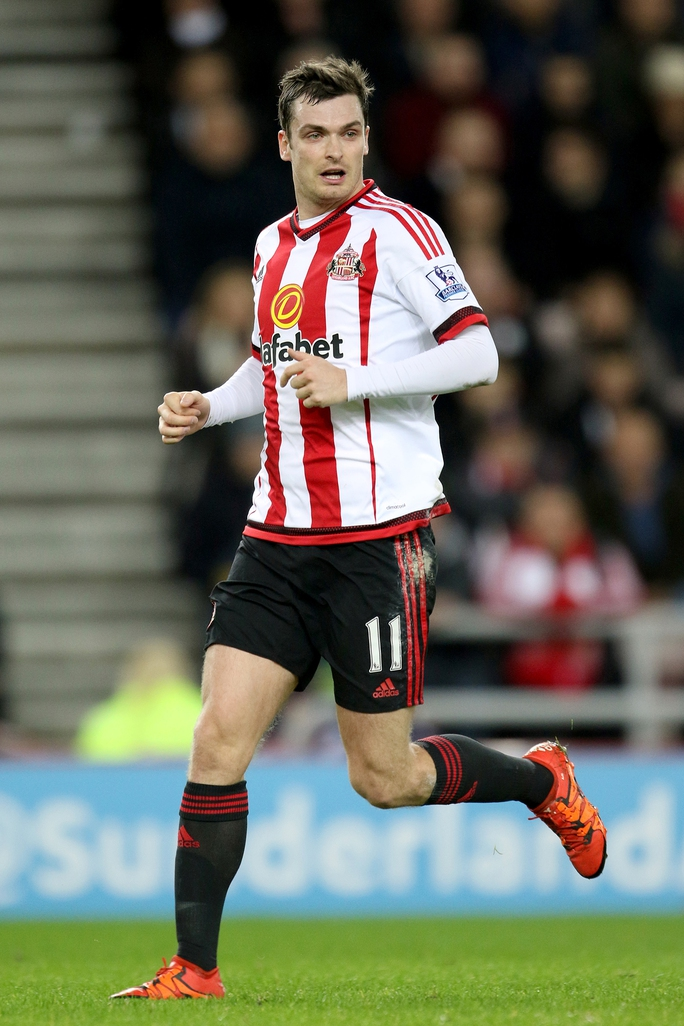 Adam Johnson khi còn khoác áo Sunderland
