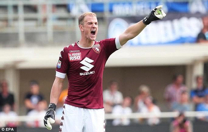 Joe Hart gây thất vọng trận ra mắt Torino