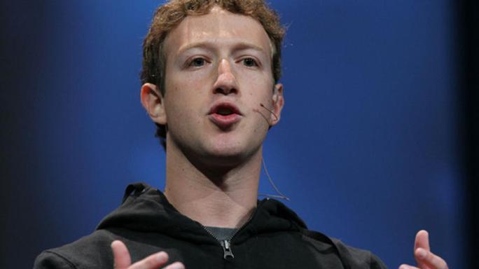 Giám đốc điều hành Facebook Mark Zuckerberg. Ảnh: Mashable