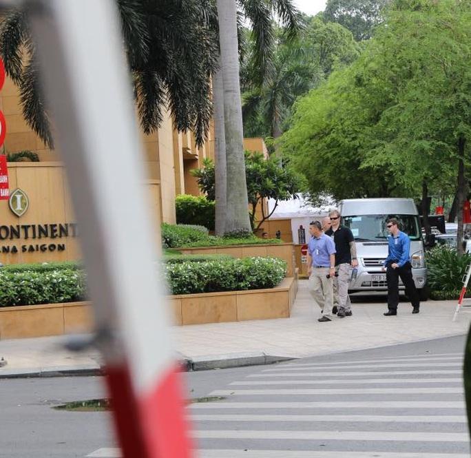 An ninh Mỹ xung quanh khách sạn InterContinental