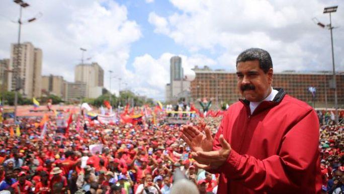 Nhiệm kỳ 6 năm của Tổng thống Maduro sẽ kết thúc vào tháng 1-2019. Ảnh: EPA