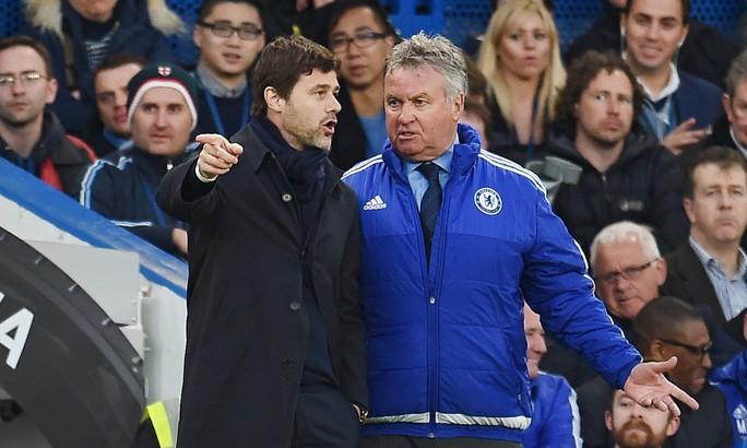 HLV Hiddink và Pochettino của Tottenham