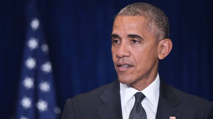 """Tổng thống Mỹ Barack Obama lên án vụ tấn công ở TP Dallas là """"đê hèn"""". Ảnh: RTE NEWS"""