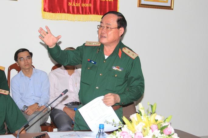 Lãnh đạo Bộ Quốc phòng tại buổi làm việc với Phó Thủ tướng Chính phủ