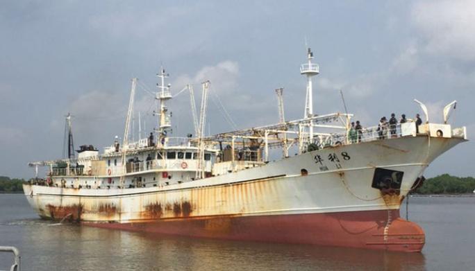 Tàu Hua Li 8 của Trung Quốc. Ảnh: Tempo