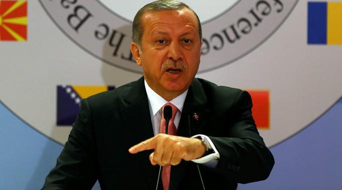 Tổng thống Thổ Nhĩ Kỳ Recep Tayyip Erdogan. Ảnh: REUTERS