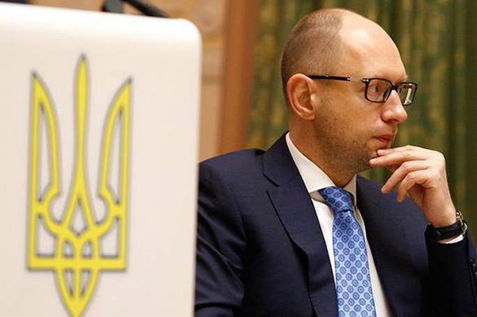Cựu Thủ tướng Ukraine Arseniy Yatsenyuk. Ảnh: REX