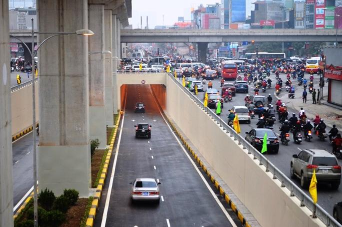 Hầm nút giao Thanh Xuân được tổ chức khởi công xây dựng vào ngày 28-6-2014 với tổng mức đầu tư hơn 551 tỉ đồng từnguồn vốn dư của dự án xây dựng đường vành đai 3 Hà Nội