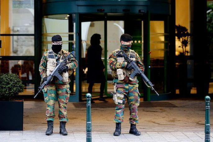 Bỉ vẫn đang trong tình trạng thắt chặt an ninh cao độ. Ảnh: Reuters