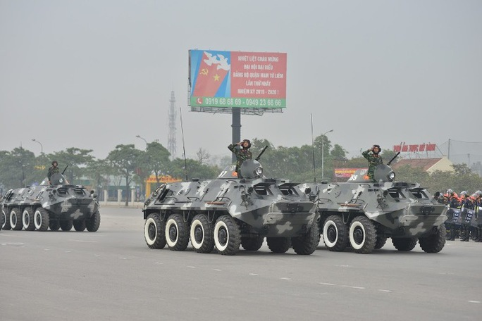 Lực lượng tăng thiết giáp của Quân đội