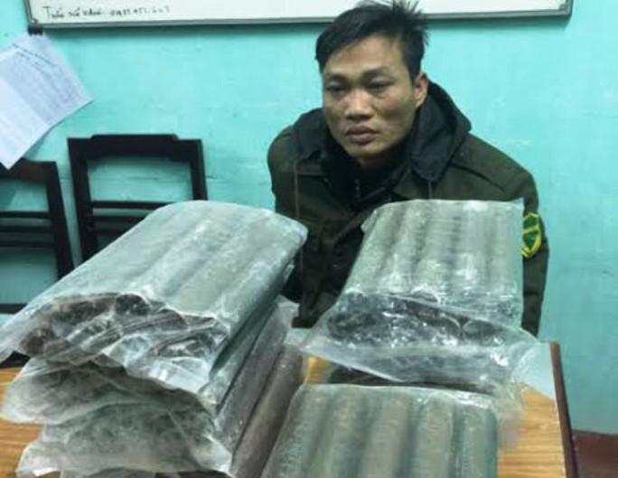 Lê Tiến Lý và số thuốc nổ công nghiệp bị công an bắt giữ