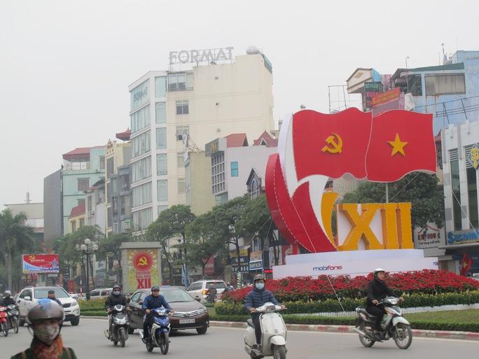 Trên đường Nguyễn Chí Thanh, quận Cầu Giấy
