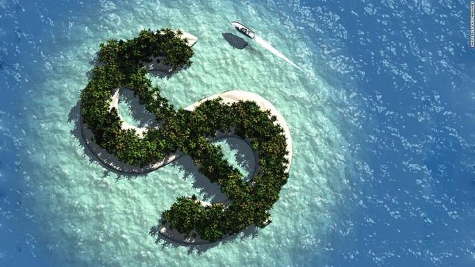 BVI với bãi biển miền cận nhiệt đới tuyệt đẹp còn là điểm đến của những dòng tiền bất minh Ảnh: LOS ANGELES TIMES