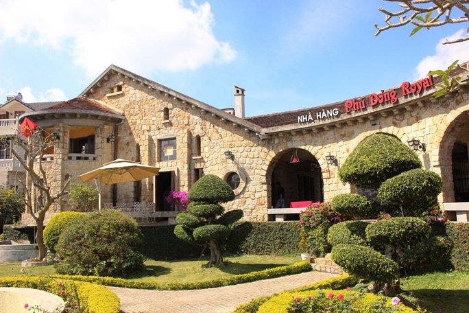 Biệt thự của thứ phi Lê Phi Ánh, nay là nhà hàng Phù Đổng