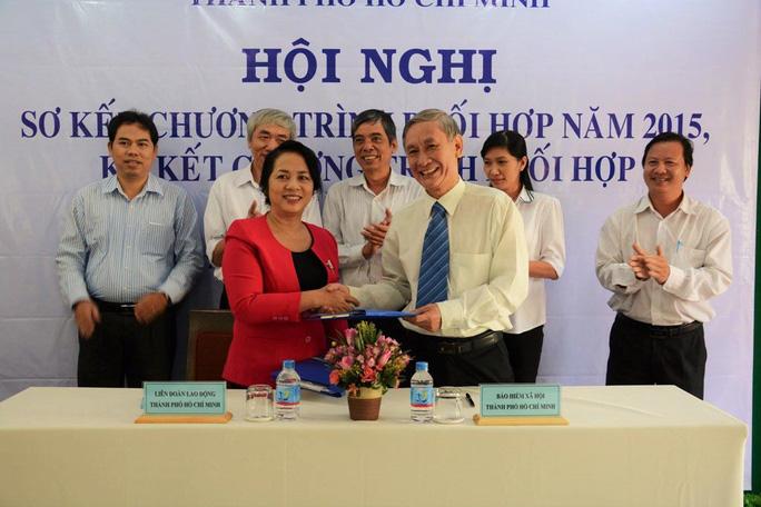LĐLĐ TP và BHXH TP HCM ký kết chương trình phối hợp giai đoạn 2016-2017