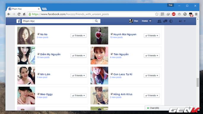 """Xóa hàng loạt bạn bè trên Facebook chỉ với 1 cú """"click"""""""