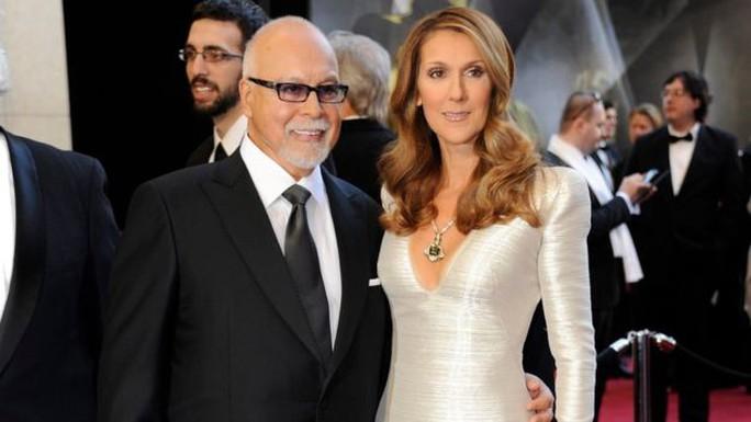 Vợ chồng Celine Dion. Ảnh: EPA
