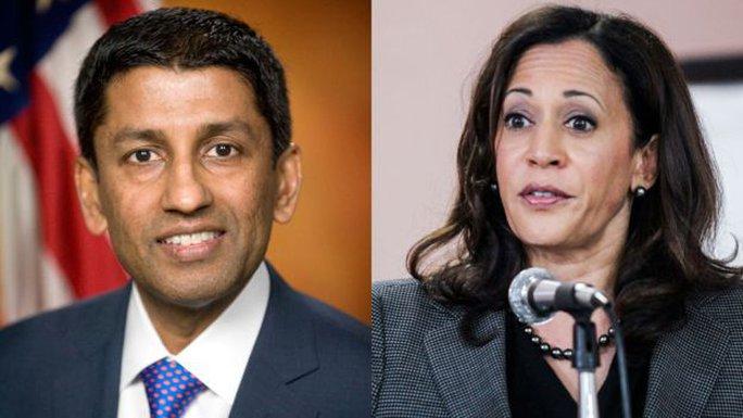 Ông Srinivasan và bà Harris là 2 trong số các ứng viên đề cử cho vị trí thẩm phán tòa án tối cao. Ảnh: Reuters
