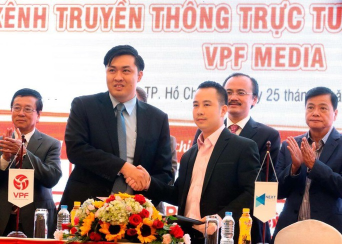 Làn gió mới từ tân Tổng Giám đốc VPF Cao Văn Chóng khi cho ra đời kênh VPF Media đã giúp người hâm mộ đến gần hơn với các giải bóng đá chuyên nghiệp Việt Nam Ảnh: Anh Dũng